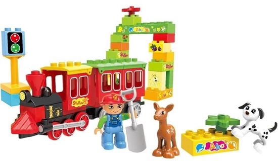 صورة لعبة تركيب قطار للتسلية