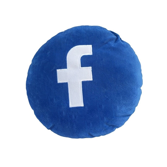 Picture of Facebook Cushion - 27 Cm