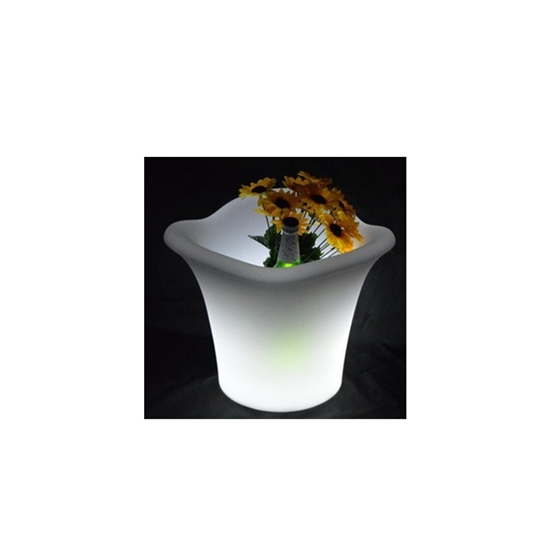 Picture of Glowing LED Flower Pot - 29 x 25 Cm
