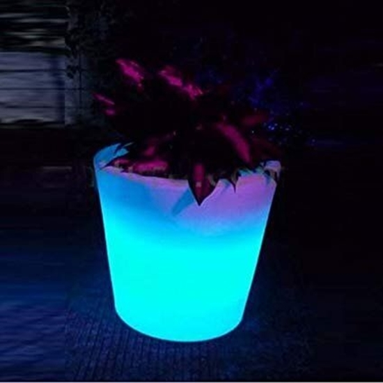 Picture of Glowing LED Flower Pot - 38 x 40 Cm