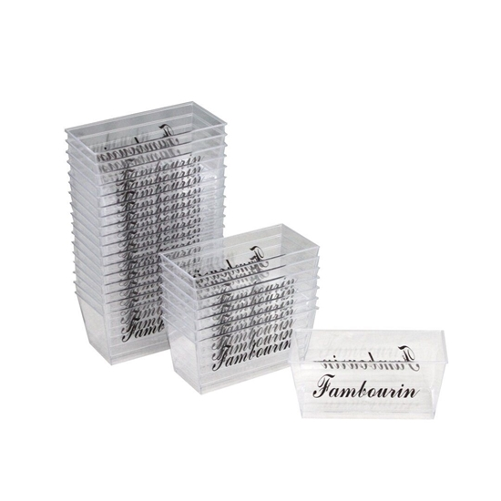 Picture of CLEAR PLASTIC MINI COCKTAIL CUBES 25/BOX
