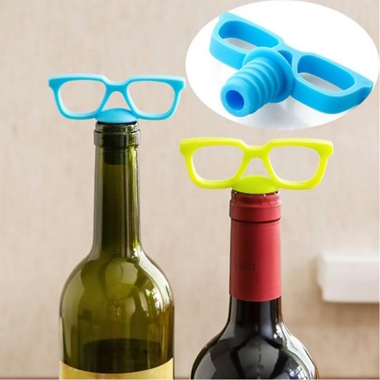 Picture of GLASSES BOTTLE STOPPER
