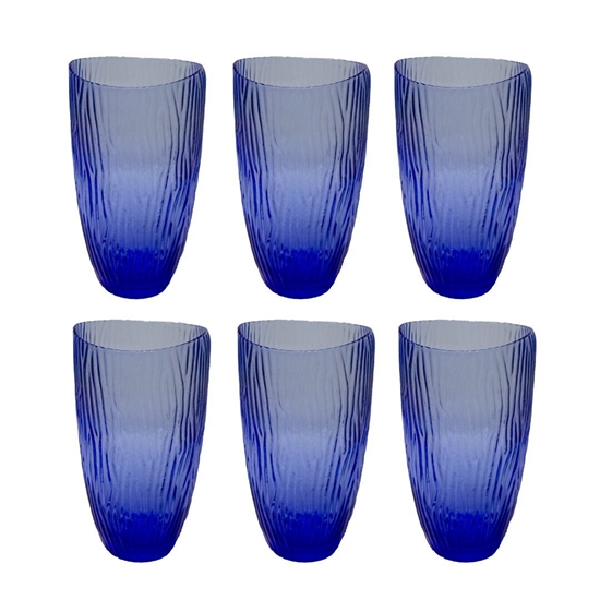 Picture of Blue Drinkware for Beverage - 14 x 8 Cm