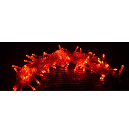 Picture of Red LED String Light - 10 M