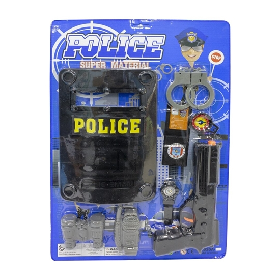 Picture of Kids Police Role Play Toy Kit