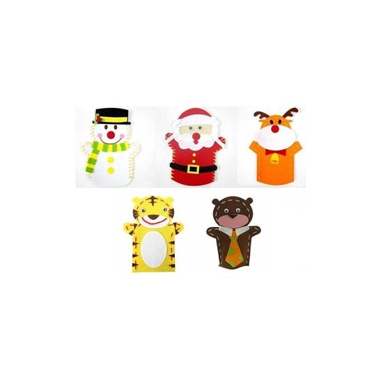 صورة Fabric Hand Puppet Toy -  23 x 18 Cm