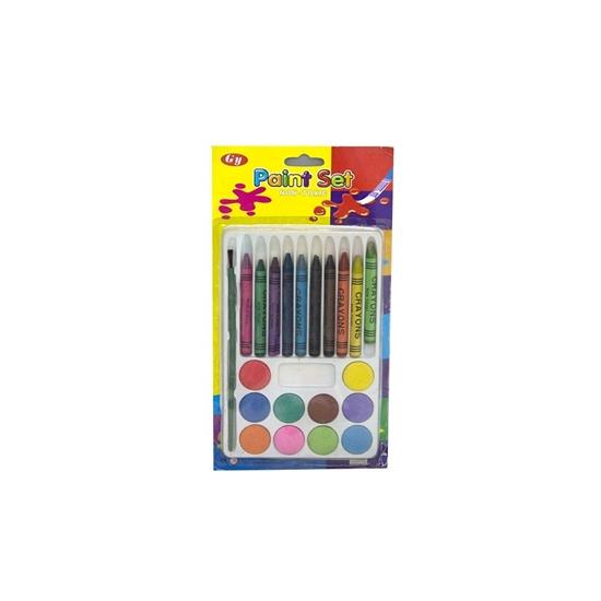 Picture of Rich Color Crayon Set