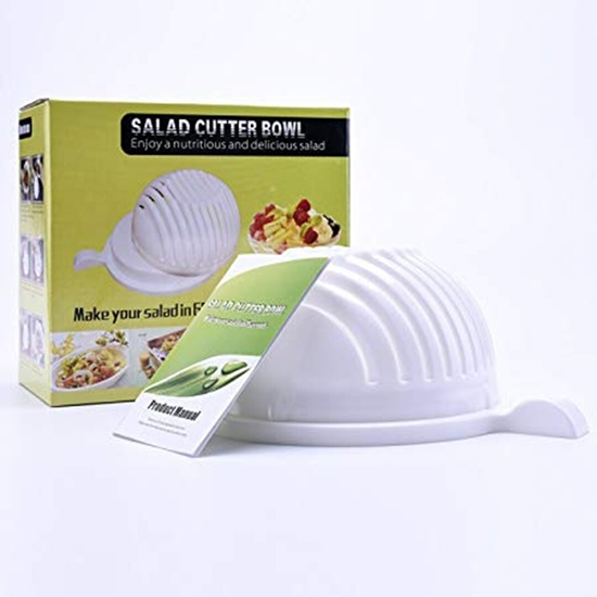 Picture of Salad Cutter Bowl - 20 x 19 Cm