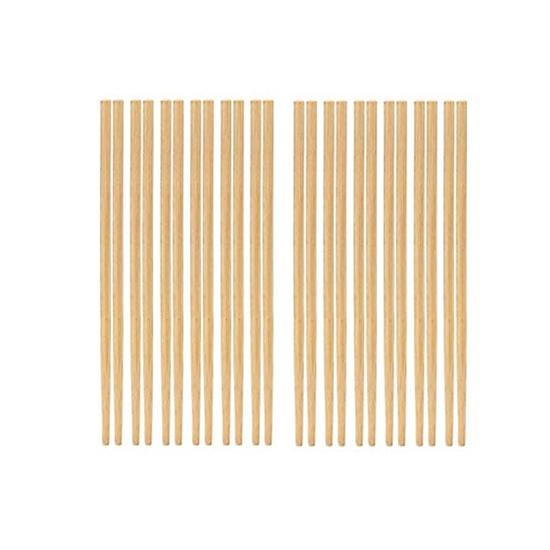 صورة Chinese Bamboo Chopsticks 10 Pairs Brown Bamboo Chopsticks
