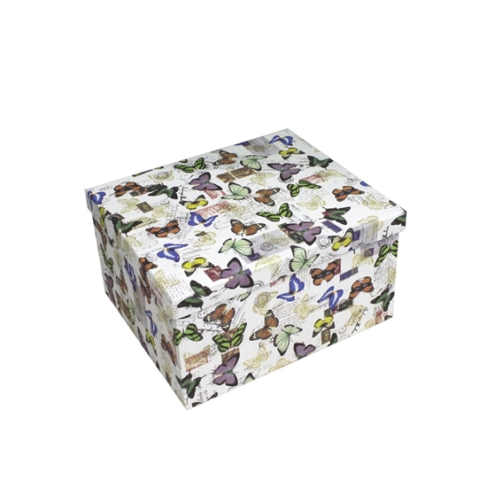 Picture of Butterfly Gift Box - 28 x 24 x 15 Cm