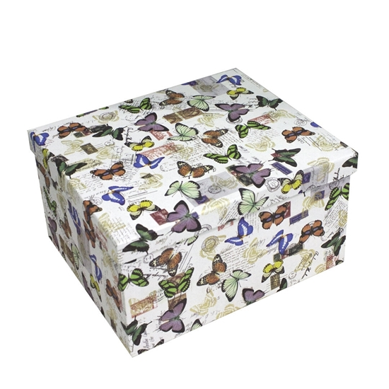 Picture of Butterfly Gift Box - 30 x 25 x 16 Cm