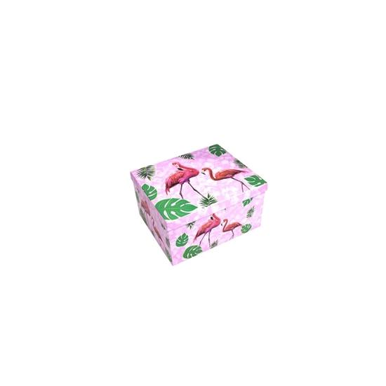Picture of Flamingo Gift Box - 24 x 19 x 12 Cm