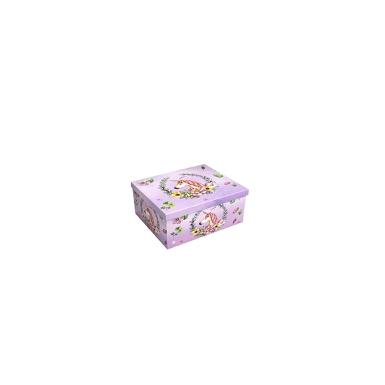 Picture of Unicorn Gift Box - 18 x 13 x 10 Cm