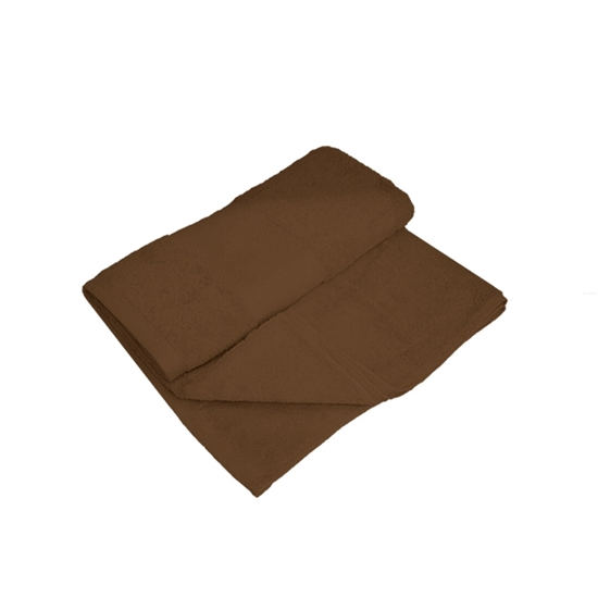 Picture of Bath Towel - Brown - 100% Cotton - 70 x 140 Cm
