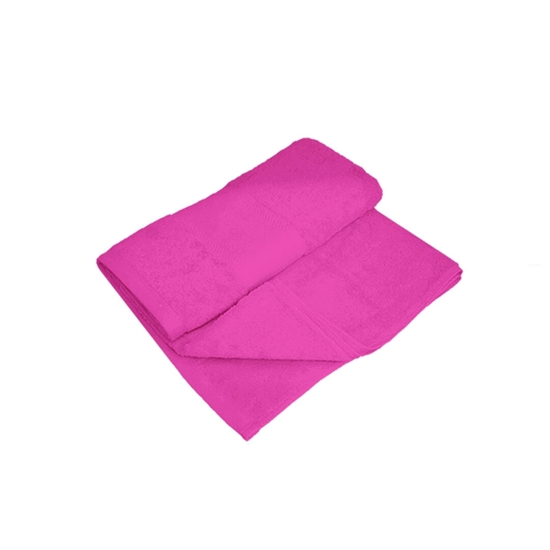 Picture of Bath Towel - Pink  - 100% Cotton - 70 x 140 Cm