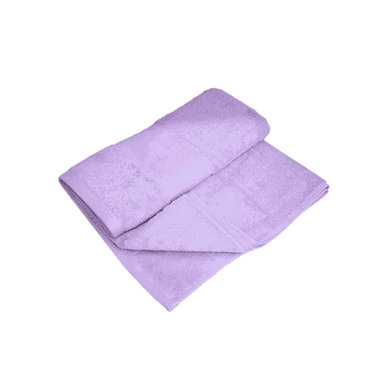 Picture of Bath Towel - Light Purple - 100% Cotton - 70 x 140 Cm