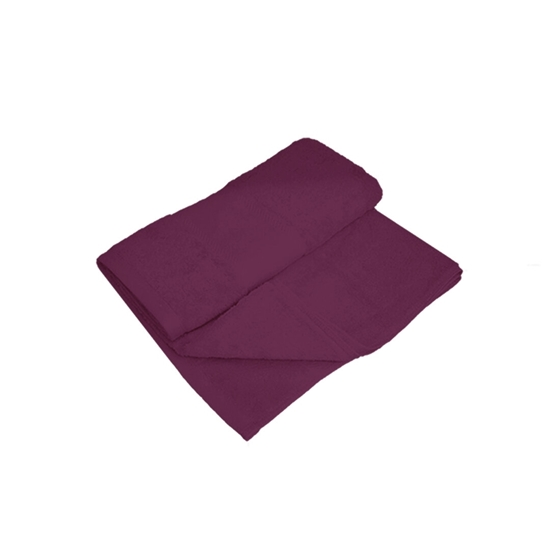 Picture of Bath Towel - Dark Purple - 100% Cotton - 70 x 140 Cm
