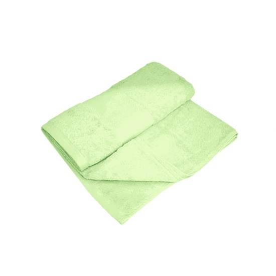 Picture of Bath Towel - Light Green - 100% Cotton - 70 x 140 Cm