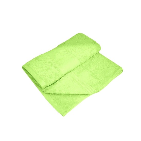 Picture of Bath Towel - Green - 100% Cotton - 70 x 140 Cm