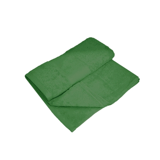 Picture of Bath Towel - Dark Green  - 100% Cotton - 70 x 140 Cm