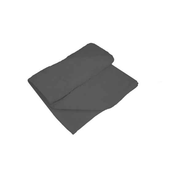 Picture of Bath Towel - Dark Grey - 100% Cotton - 70 x 140 Cm