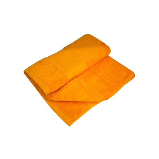 Picture of Bath Towel - Orange - 100% Cotton - 70 x 140 Cm