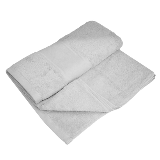 Picture of Bath Towel - Grey - 100% Cotton - 70 x 140 Cm