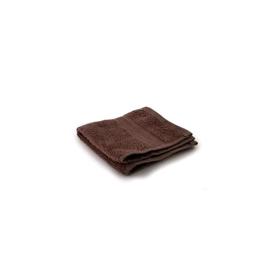 صورة منشفة صغيرة باللون البني - 32 × 32 سم