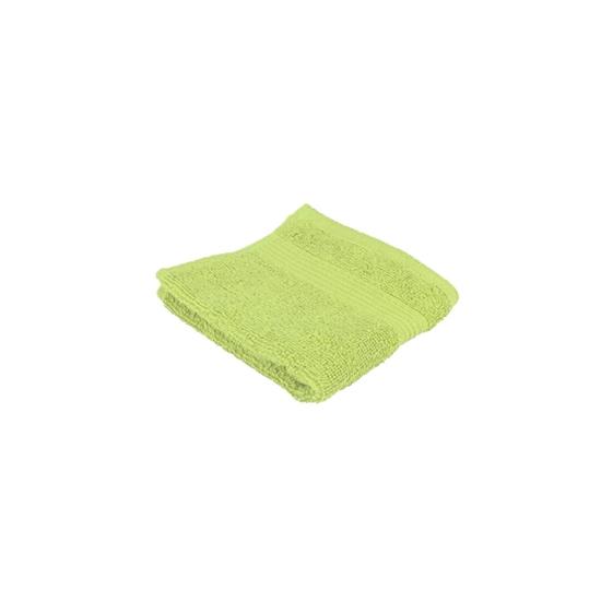 صورة منشفة صغيرة باللون الأخضر الفاتح - 32 × 32 سم