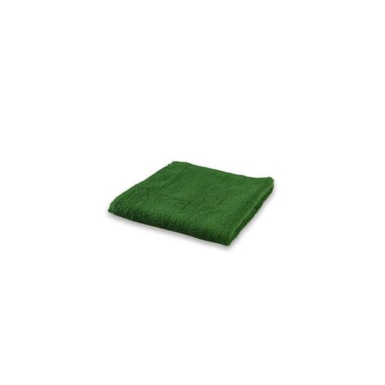 صورة منشفة صغيرة باللون الأخضر الداكن - 32 × 32 سم
