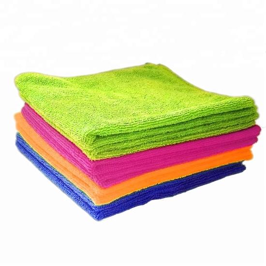 صورة Microfiber Cleaning Cloth Pack - for Cleaning & Cars & Glasses - Best Value & Quality