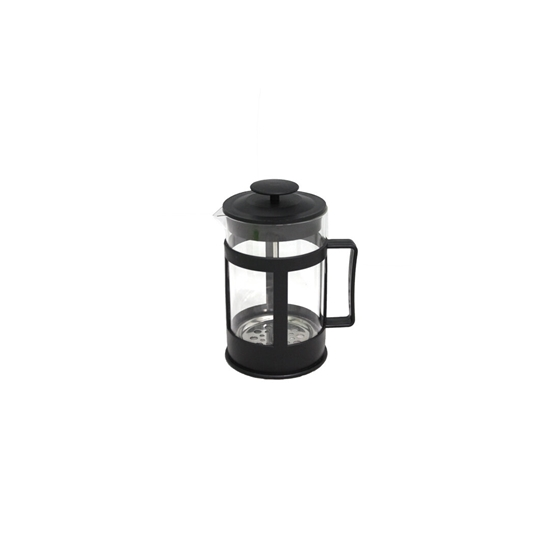 صورة Glass Stainless Steel French Press Coffee Tea Maker