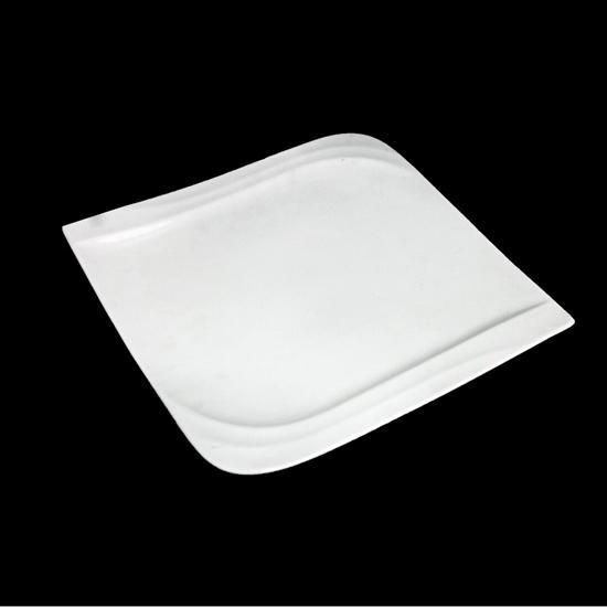 صورة طبق تقديم - أبيض 30 سم