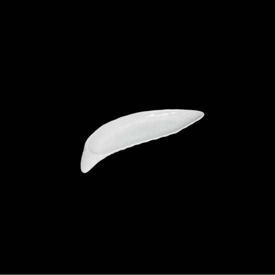 صورة طبق تقديم - أبيض 38 × 11 سم
