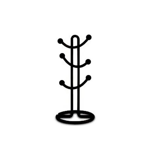 صورة BLACK MUG STAND 15x43cm