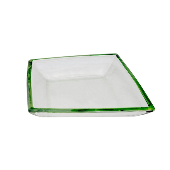 Picture of Glass Bowl with Green Color - 40 x 5 Cm
