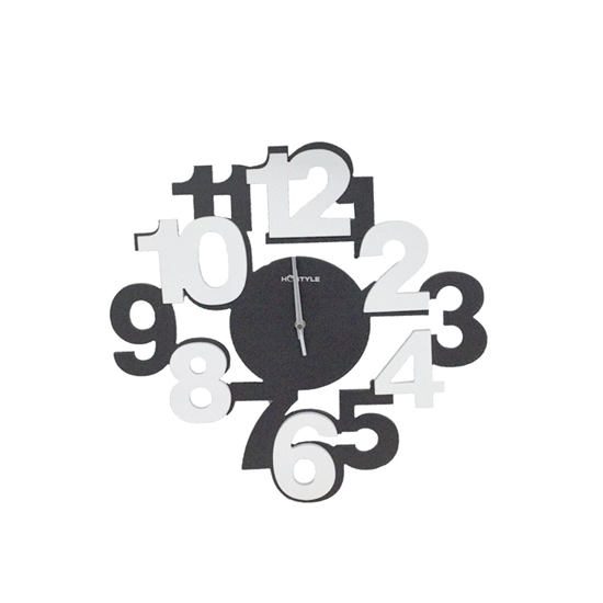 Picture of Large Number Wall Clock - 40 Cm