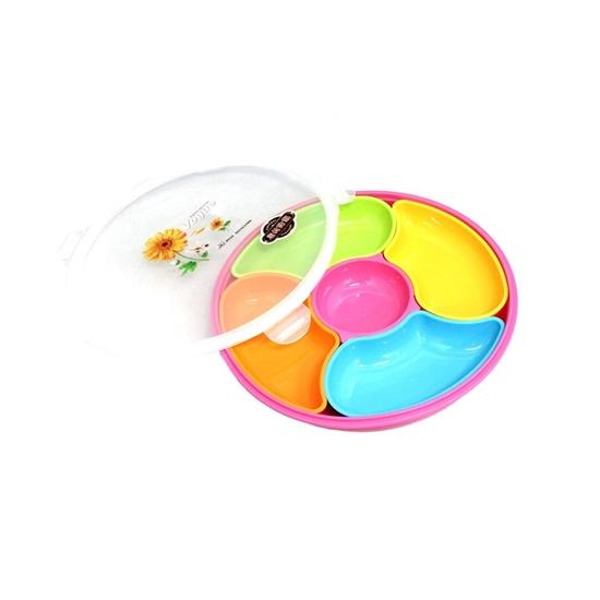 صورة حافظة طعام بتركيبات داخلية - 24 × 4 سم