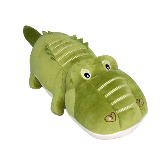 Picture of Crocodile Blush Toy - 44 x 14 Cm
