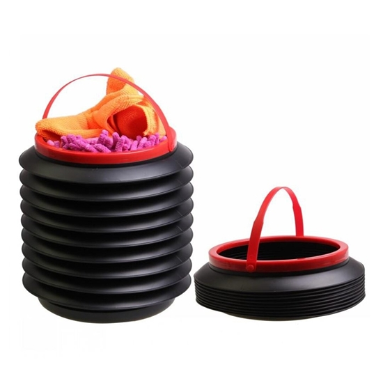 Picture of Black Multifunctional Car Foldable Container -  22 x 18 Cm