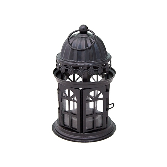 Picture of Iron Lantern Candle Holder - 17 x 10 Cm