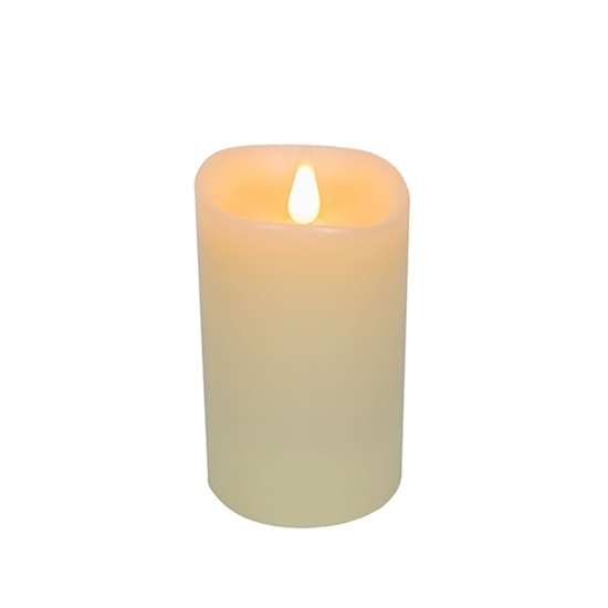 Picture of Led Battery Candle Moving Flame - 16.5 x 10 Cm