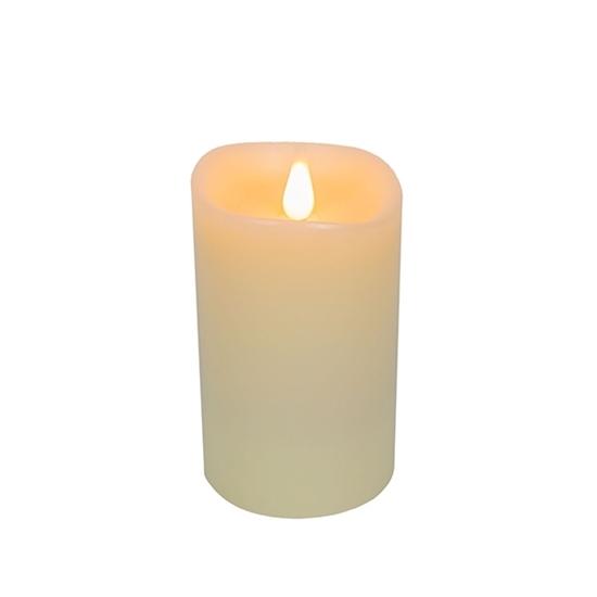 صورة Led Battery Candle Moving Flame - 16.5 x 10 Cm