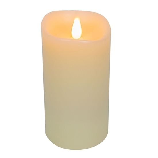 صورة Led Battery Candle Moving Flame - 19 x 10 Cm