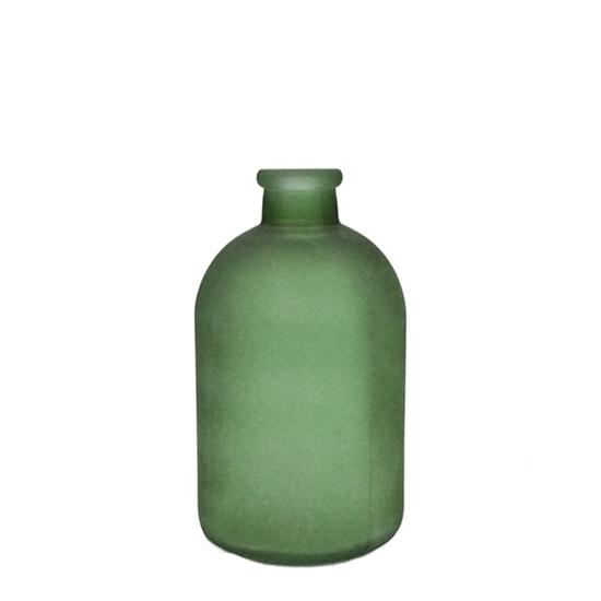 صورة مزهرية خضراء -  قياس 17 × 5 سم