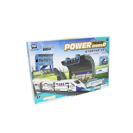 Picture of Power Train Turbos Train Station Starter Set - 106 x 44 Cm