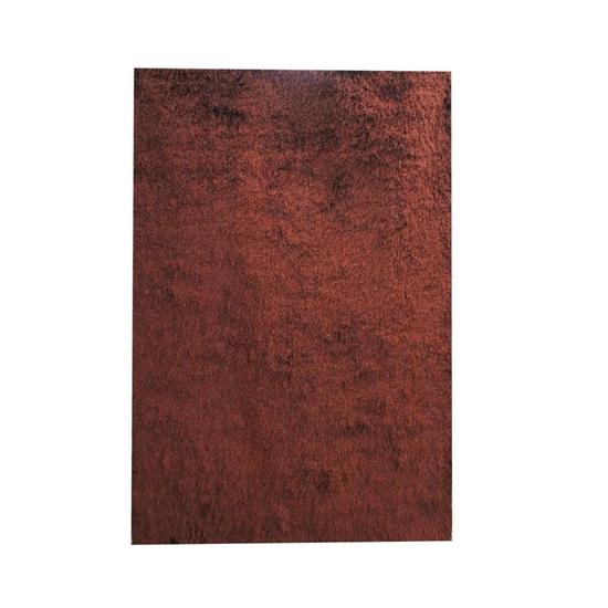 صورة سجّادة وبر طويل باللون البني قياس 140 × 200 سم
