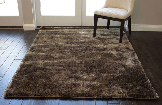 Picture of Brown Shaggy Carpet - 160 x 230 Cm