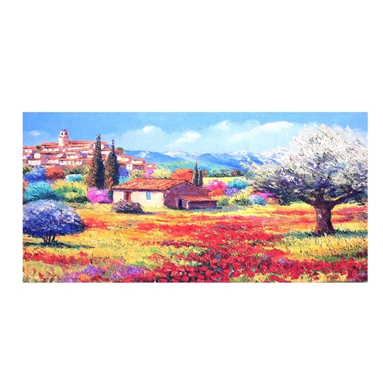 Picture of Printed Canvas - 60 x 120 Cm