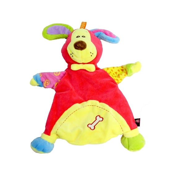 صورة Baby Soft Rainbow Rattle Toy